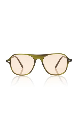 Nilos Square-Frame Acetate Sunglasses