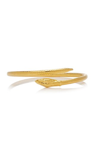 Eternity 18K Gold-Plated Snake Bracelet