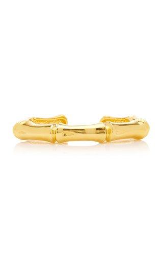 Zula 18K Gold-Plated Bamboo Bracelet