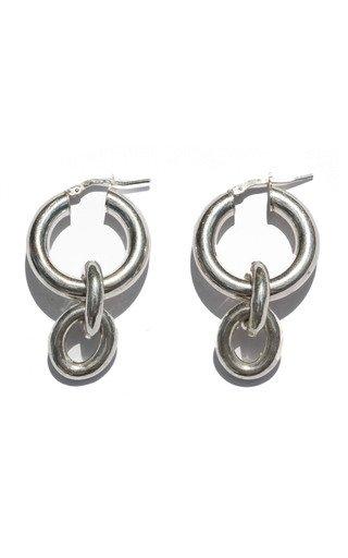 Libi Sterling Silver Chain Earrings