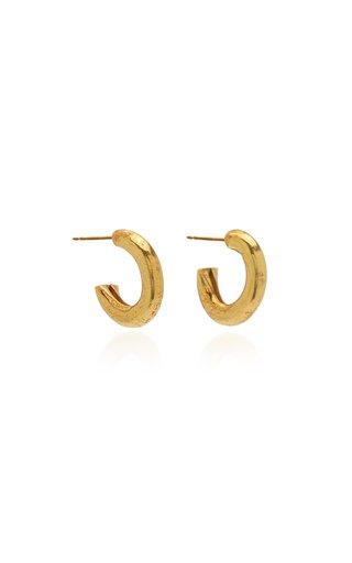Lenny Gold-Plated Hoop Earrings