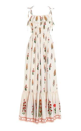 Coco DahliaCotton-Poplin Maxi Dress