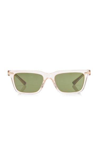 BA Square-Frame Acetate Sunglasses