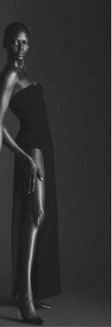 Slit Cotton-Blend Crepe Maxi Tube Dress