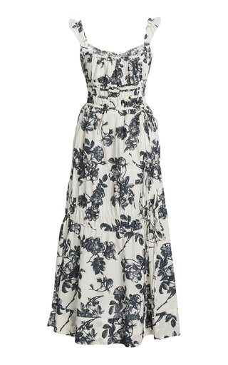 Prisca Floral Cotton Dress