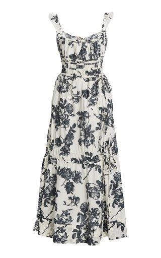 Prisca Floral Cotton Dress