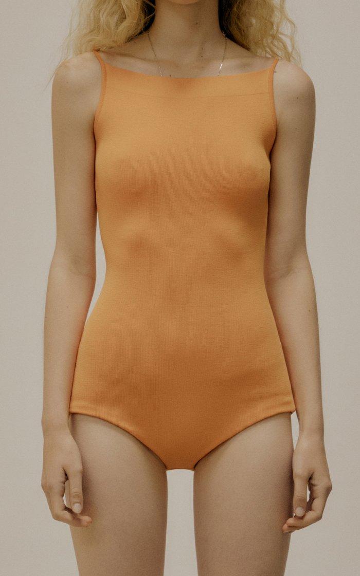 Compact-Knit Bodysuit