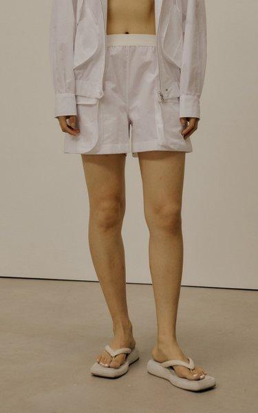 Pocket-Detailed Cotton-Blend Shorts