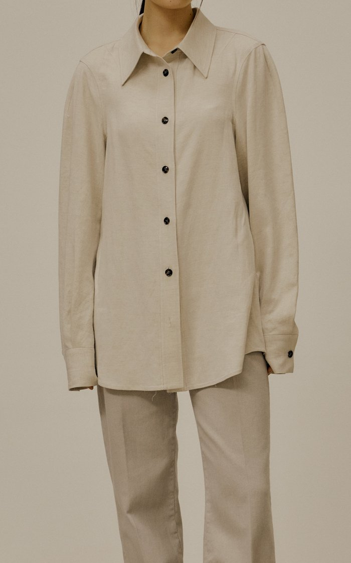 Organic Cotton-Linen Shirt