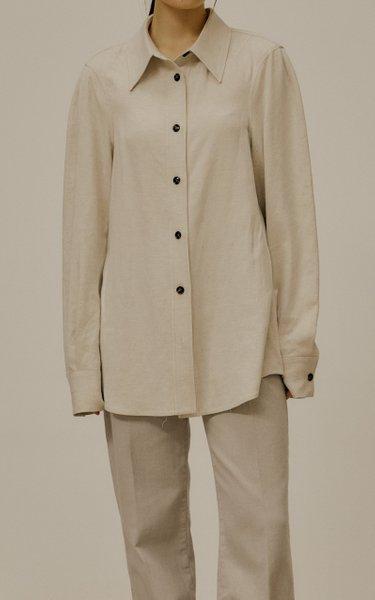 Organic Cotton-Linen Shirt