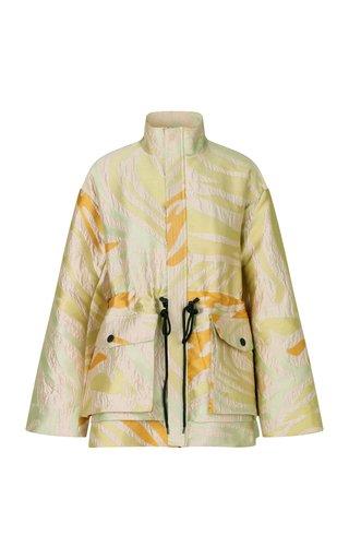 Imani Zebra Jacquard Jacket