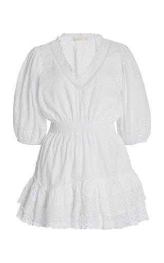 Adley Cotton Mini Dress