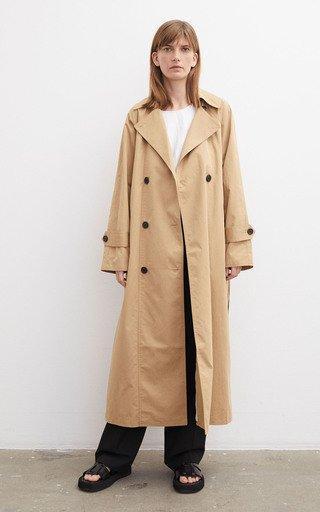 Ramalo Organic Cotton Trench Coat