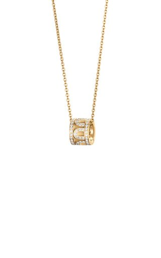 L'Arc 18K Yellow Gold Diamond Necklace