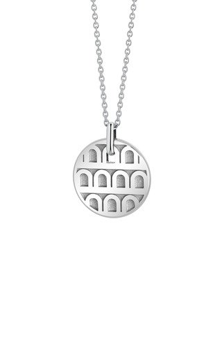 L'Arc 18K White Gold Necklace
