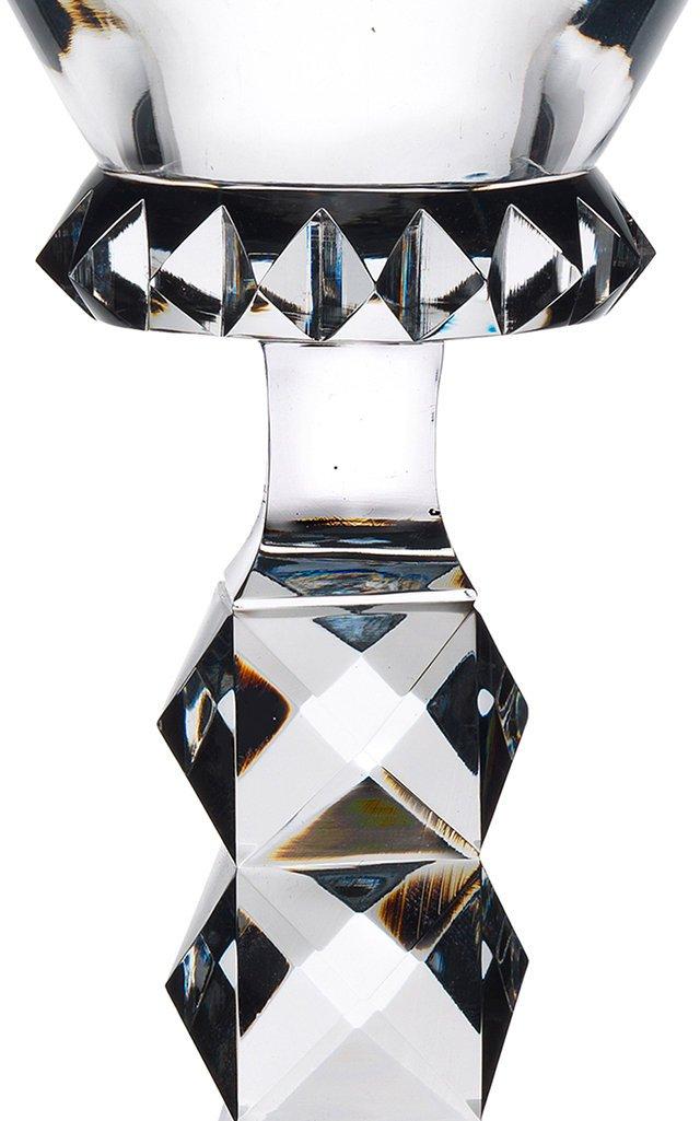 Hoffmann Goblet Wuerfelschliff Pokal With Prism Cut