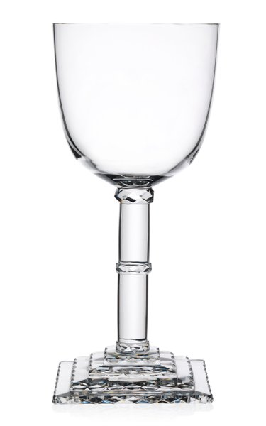 Hoffmann Goblet Stufenschliff Pokal With Square Stepped Foot