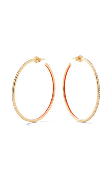Medium Linear Hoops