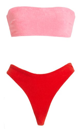 Poppy Terry Bandeau Bikini