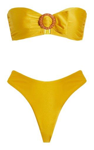 Brighton Buckle Bandeau Bikini
