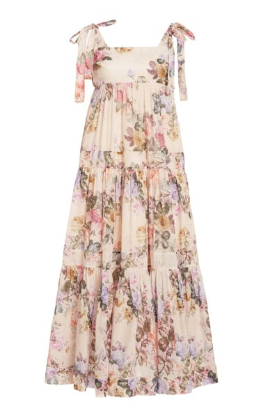 Brighton Floral Cotton Midi Dress