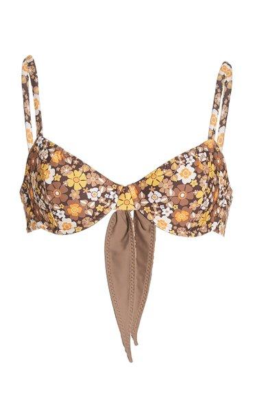 Lexie Floral Bikini Top
