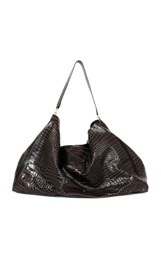 Peter Do x Medea Everyday Croc-Effect Leather Tote