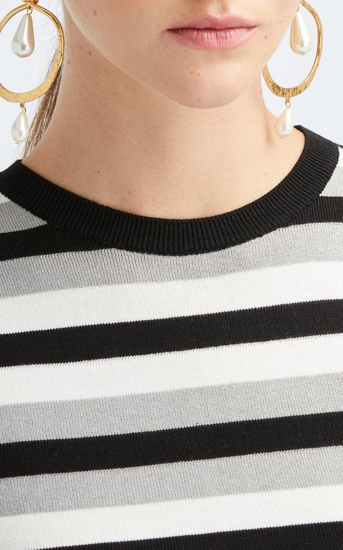 Sleeveless Cotton Silk Tank Top