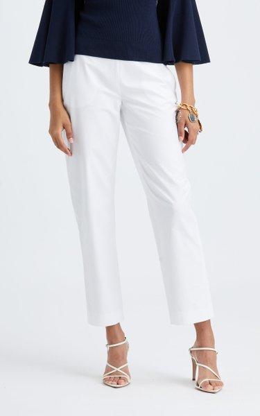 Classic Straight Leg Crop Pant