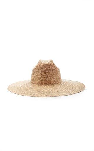 Western Wide-Brimmed Palm Leaf Hat