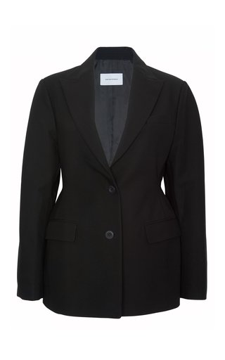The Hourglass Cotton Blazer