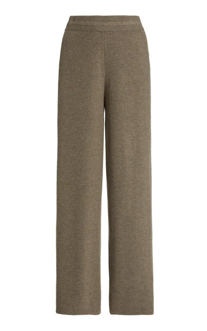 Rib-Knit Lounge Pants