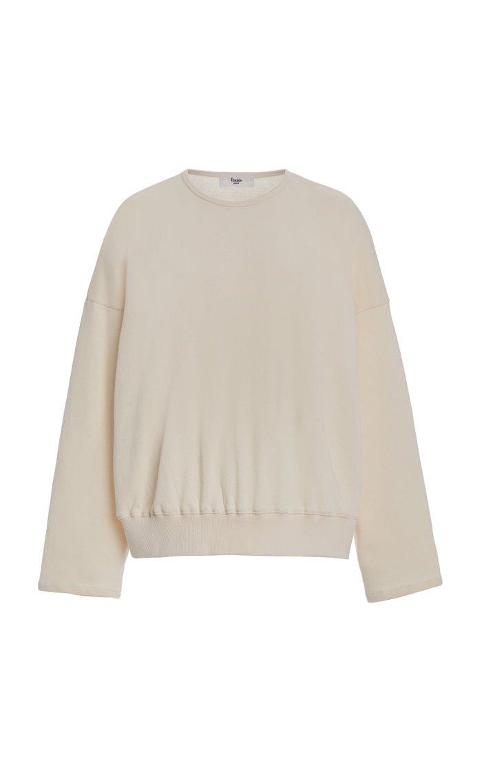 Jaimie Oversized Cotton Sweatshort Set