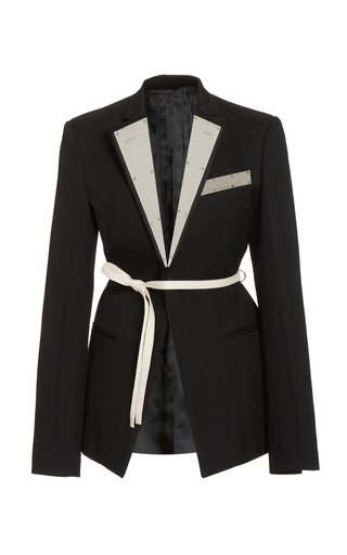 Everyday Belted Wool Blazer