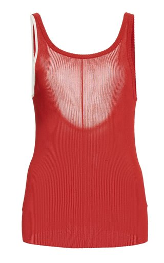 Maggie Ribbed-Knit Tank