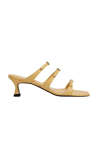 Naomi Buckled Leather Sandals