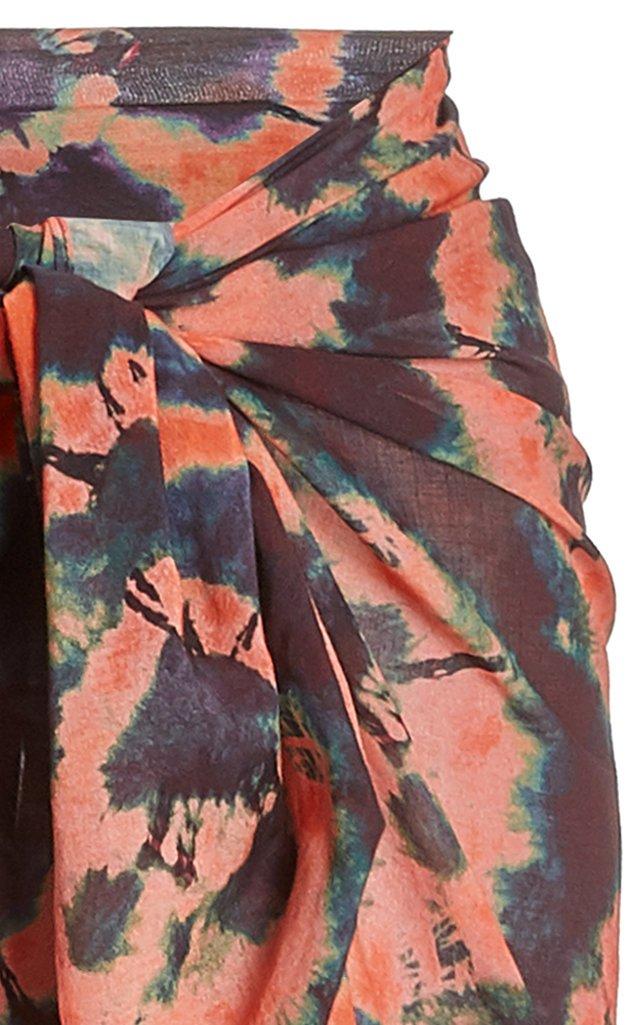 Paz Tie-Dyed Pareo