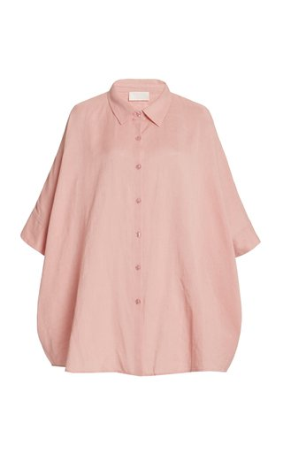 Exclusive Lula Oversized Cotton-Blend Shirt