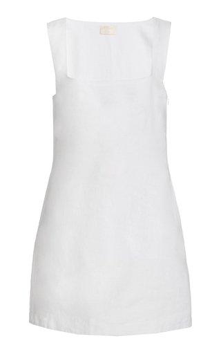 Exclusive Alice Linen Mini Dress