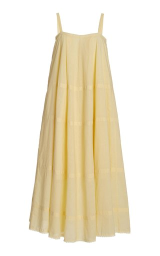 Exclusive Odette Cotton Midi Dress
