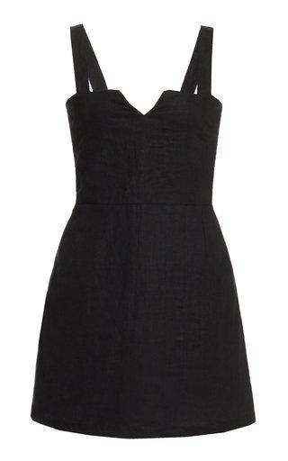 Exclusive Nina Linen Mini Dress
