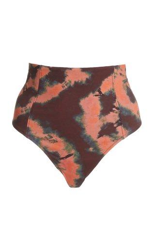 Zahara Tie-Dyed Bikini Bottoms