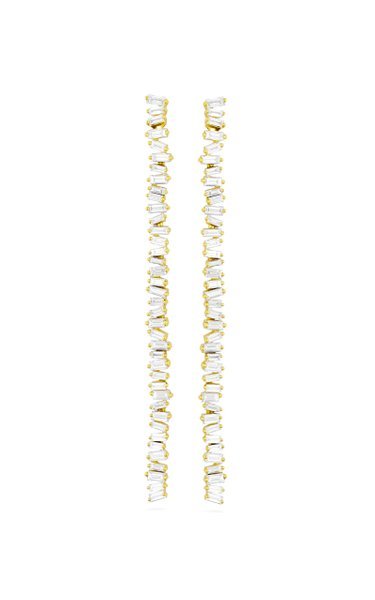18K Yellow Gold Fireworks Earrings