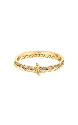 Keepsakes Tied Together 18K Yellow Gold Diamond Ring