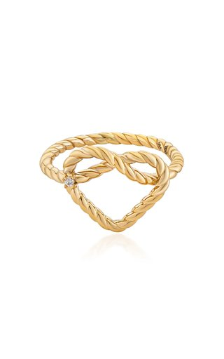 Promise Alyada 18K Yellow Gold Diamond Ring