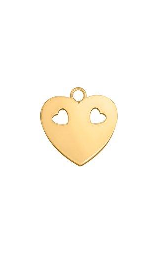 Keepsakes Little Heart 18K Yellow Gold Charm