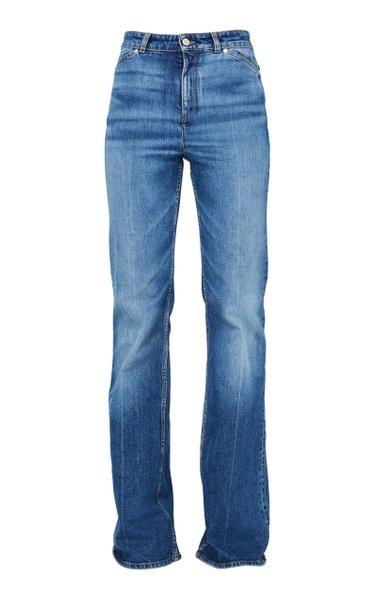 Denim Love Stretch High-Rise Flared Jeans