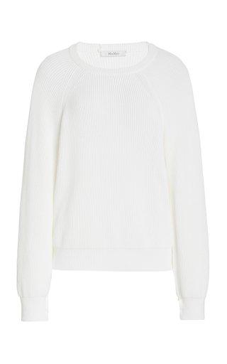 Mattia Open Sleeve Jersey Blouse