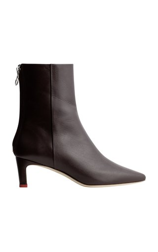 Ivy Leather Booties