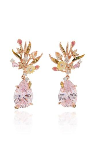 Posie 18K Rose Gold Vermeil Multi-Stone Earrings